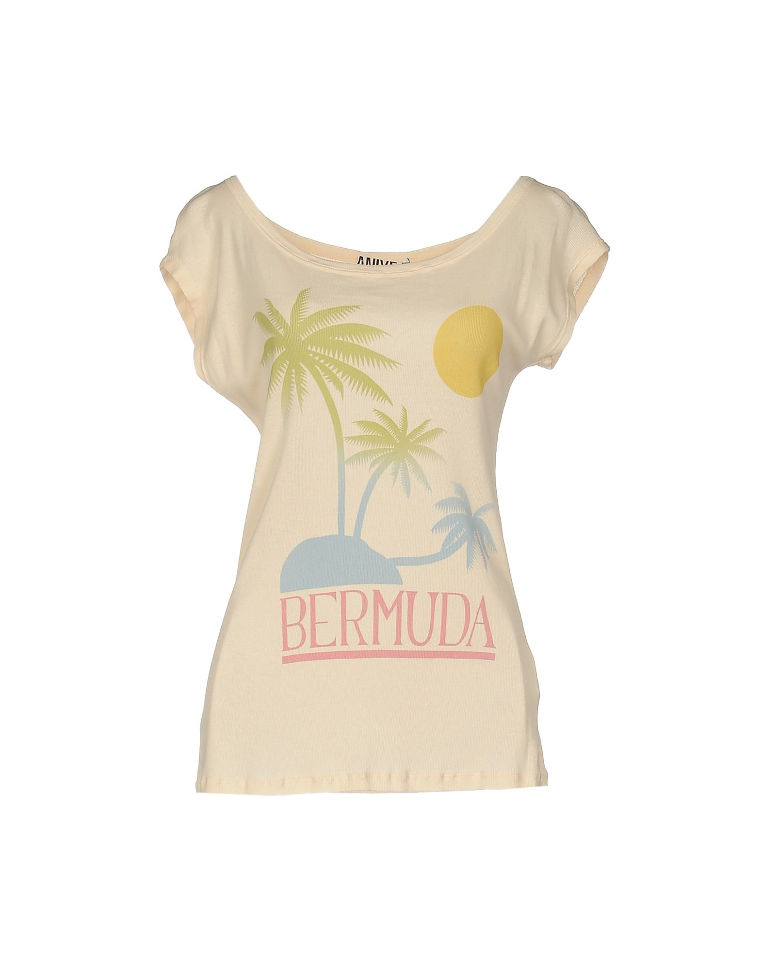 ANIYE BY Damen T-shirts Farbe Nude Größe 4
