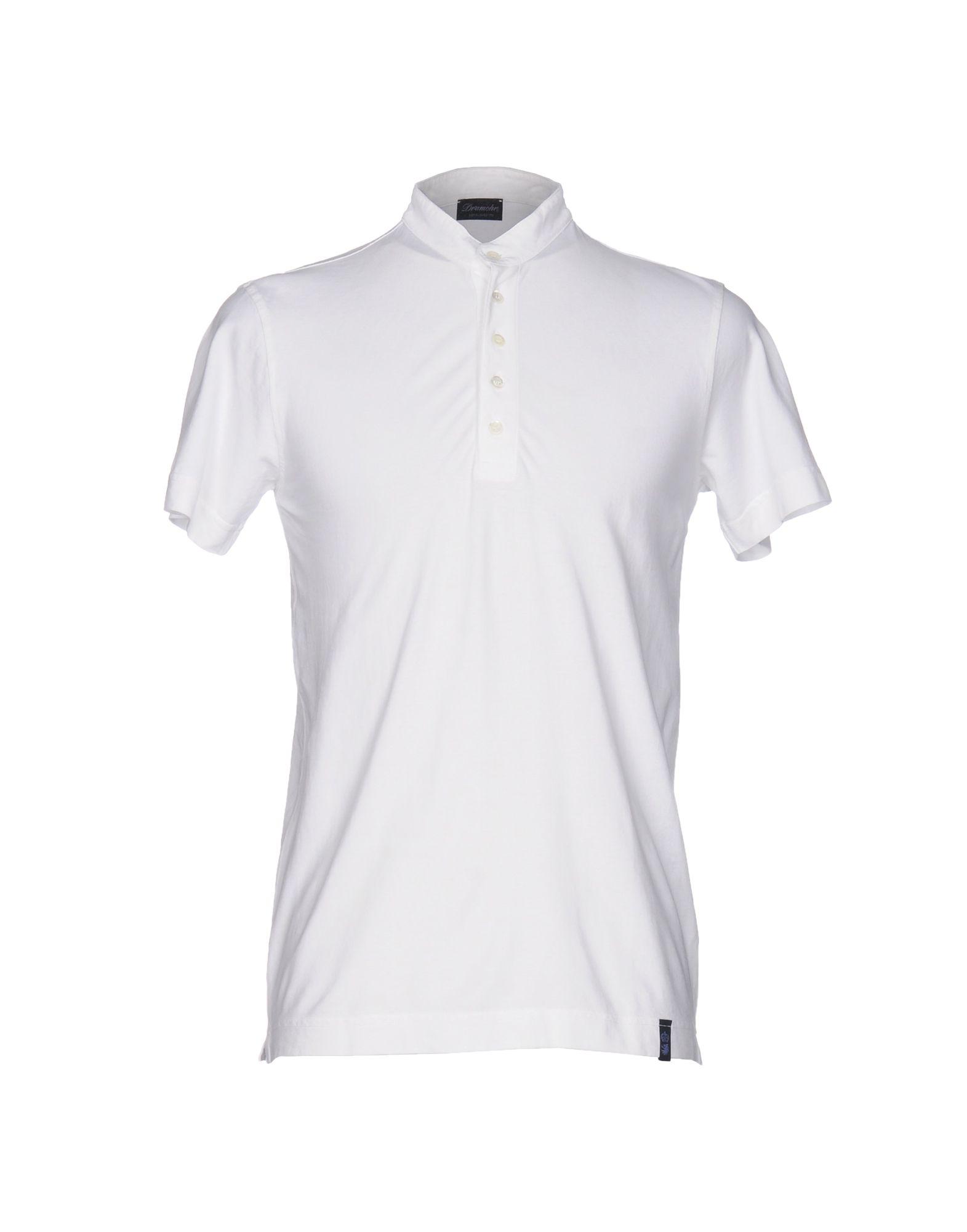 《送料無料》DRUMOHR メンズ T シャツ ホワイト XS コットン 100%