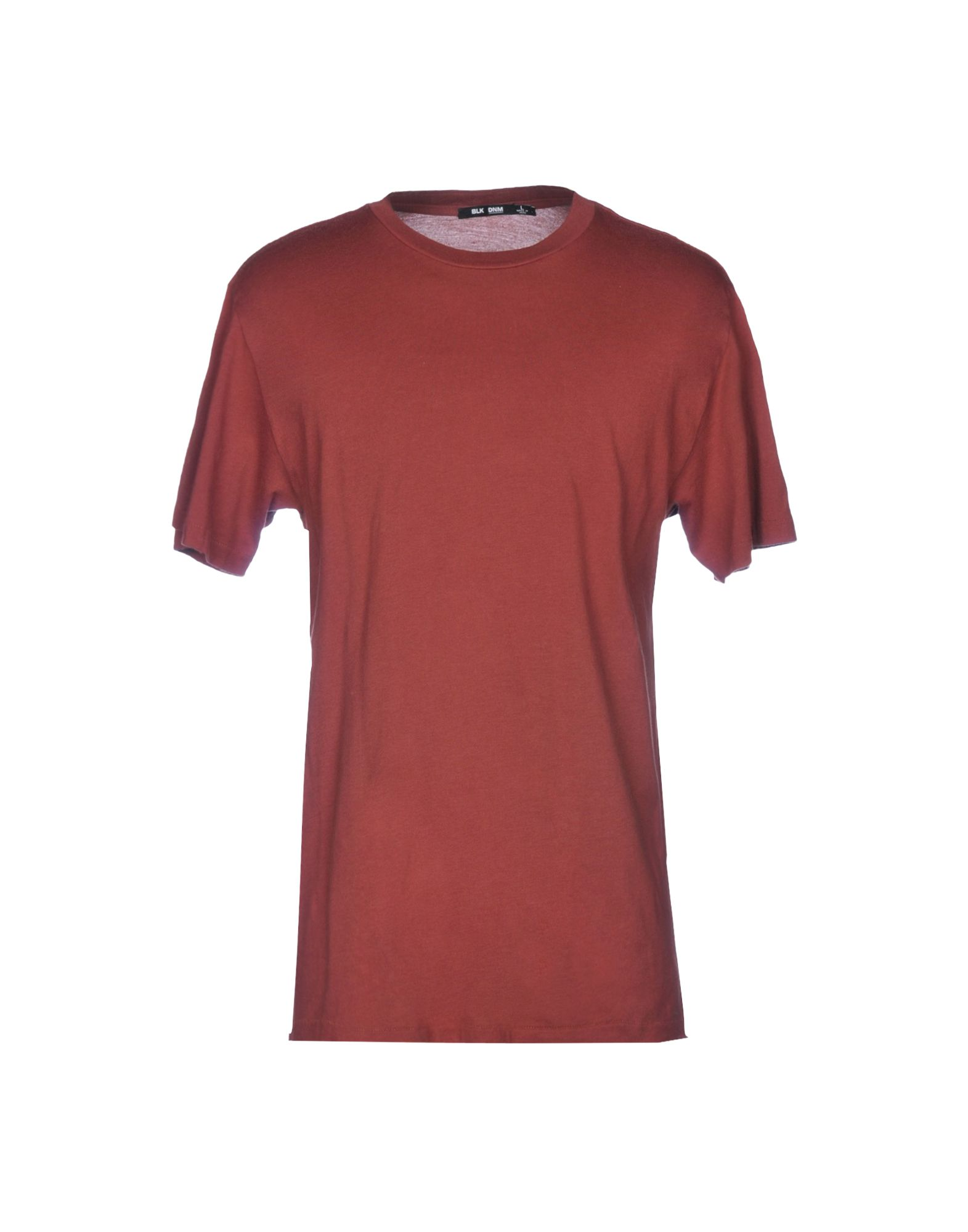 BLK DNM T-Shirt in Brick Red