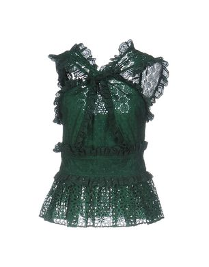 OSCAR DE LA RENTA Damen Top Farbe Vert Émeraude Größe 3 Sale Angebote Schwarzheide