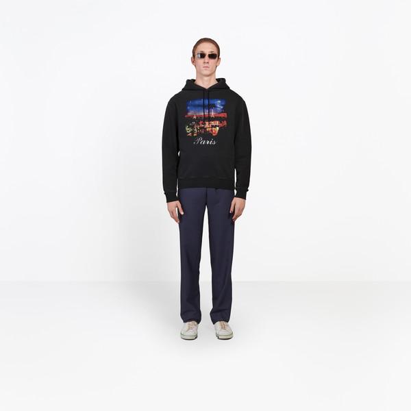 BALENCIAGA SWEATER Man Paris Hoody Sweater g
