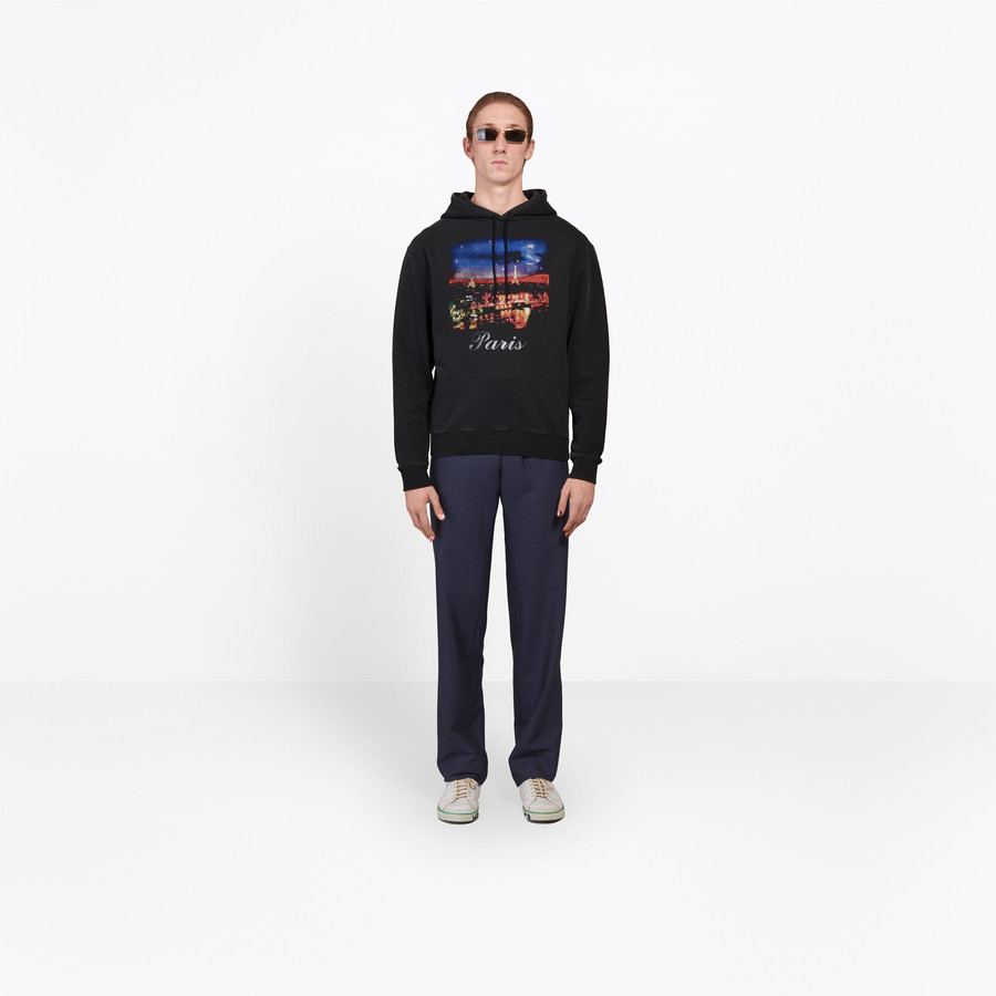 BALENCIAGA Paris Hoody Sweater SWEATER Man d