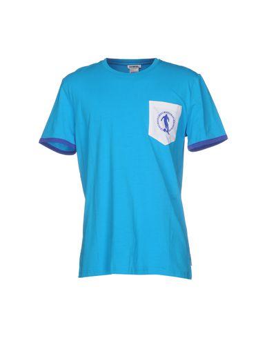 BIKKEMBERGS SWIMWEAR メンズ T シャツ ターコイズブルー XXL コットン 92% / ポリウレタン? 8%
