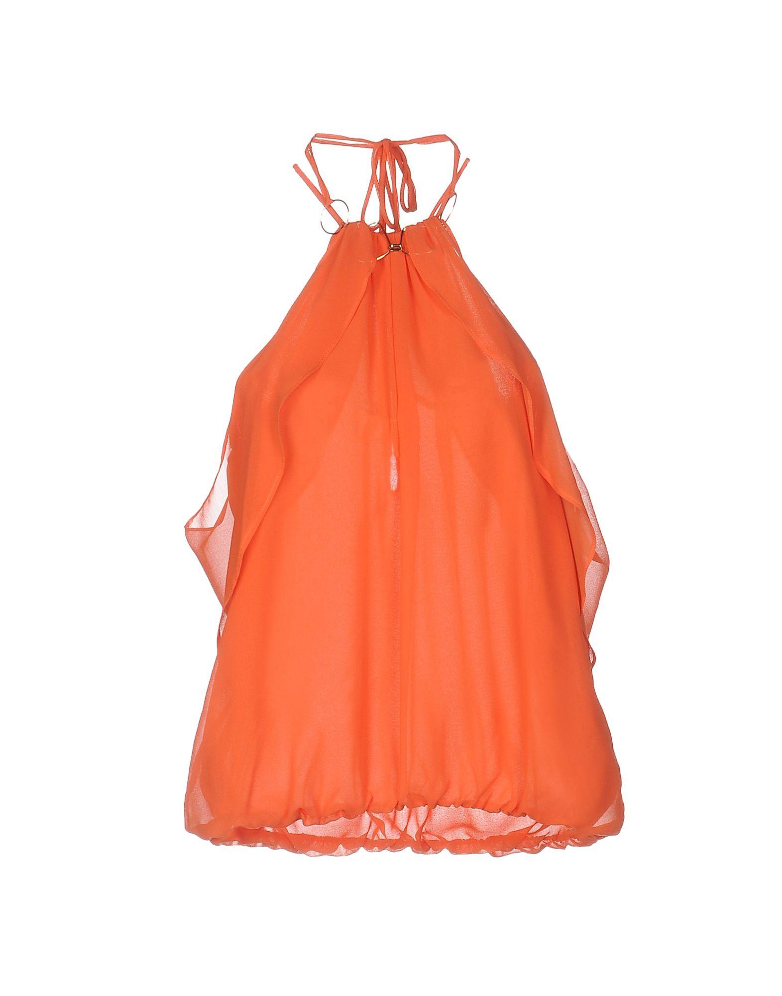 ANNARITA N. Damen Top Farbe Orange Größe 6