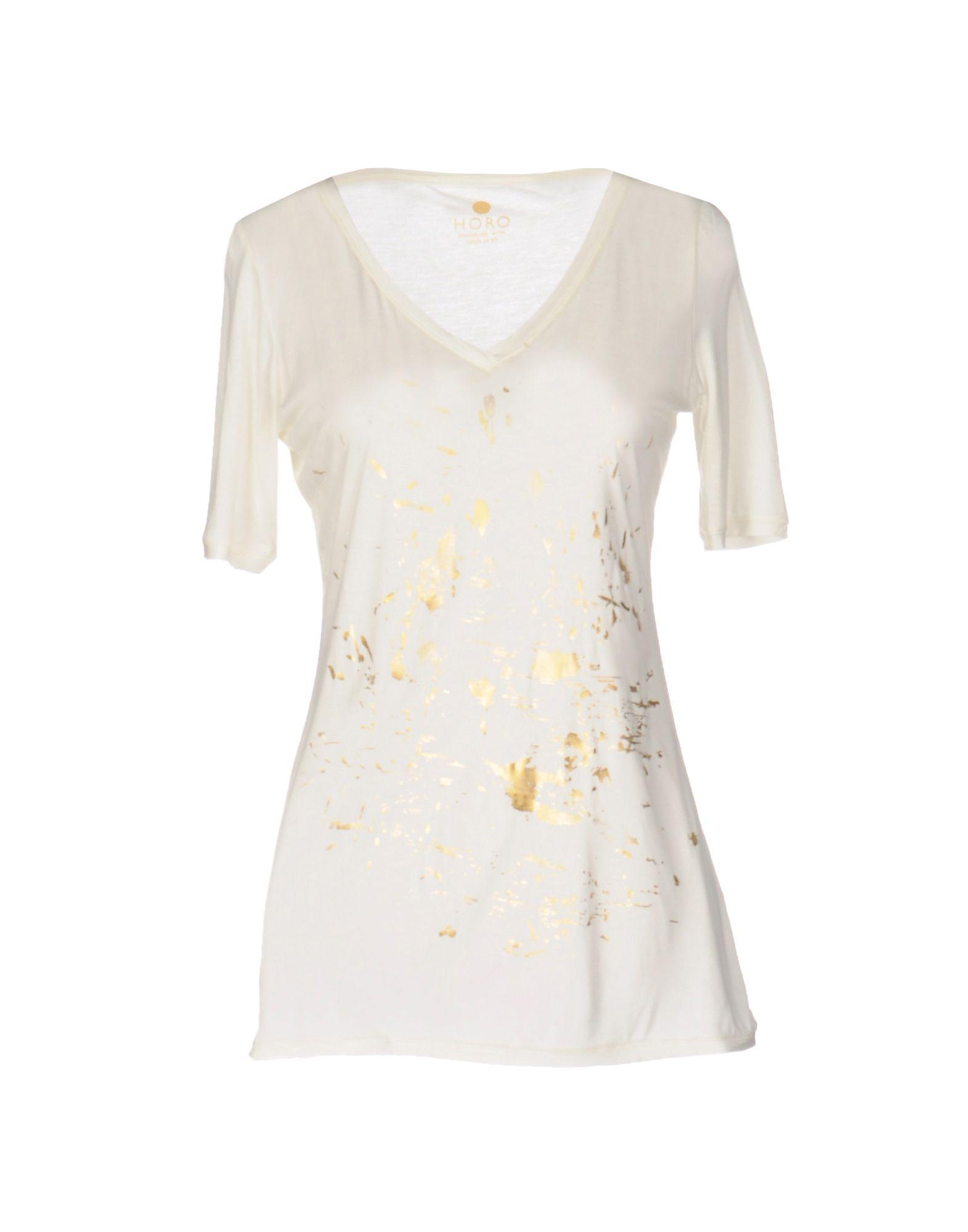 HORO T-Shirt in Ivory