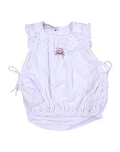 PATRIZIA PEPE Baby Kleid Weiß Größe 3 95% Baumwolle 5% Elastan