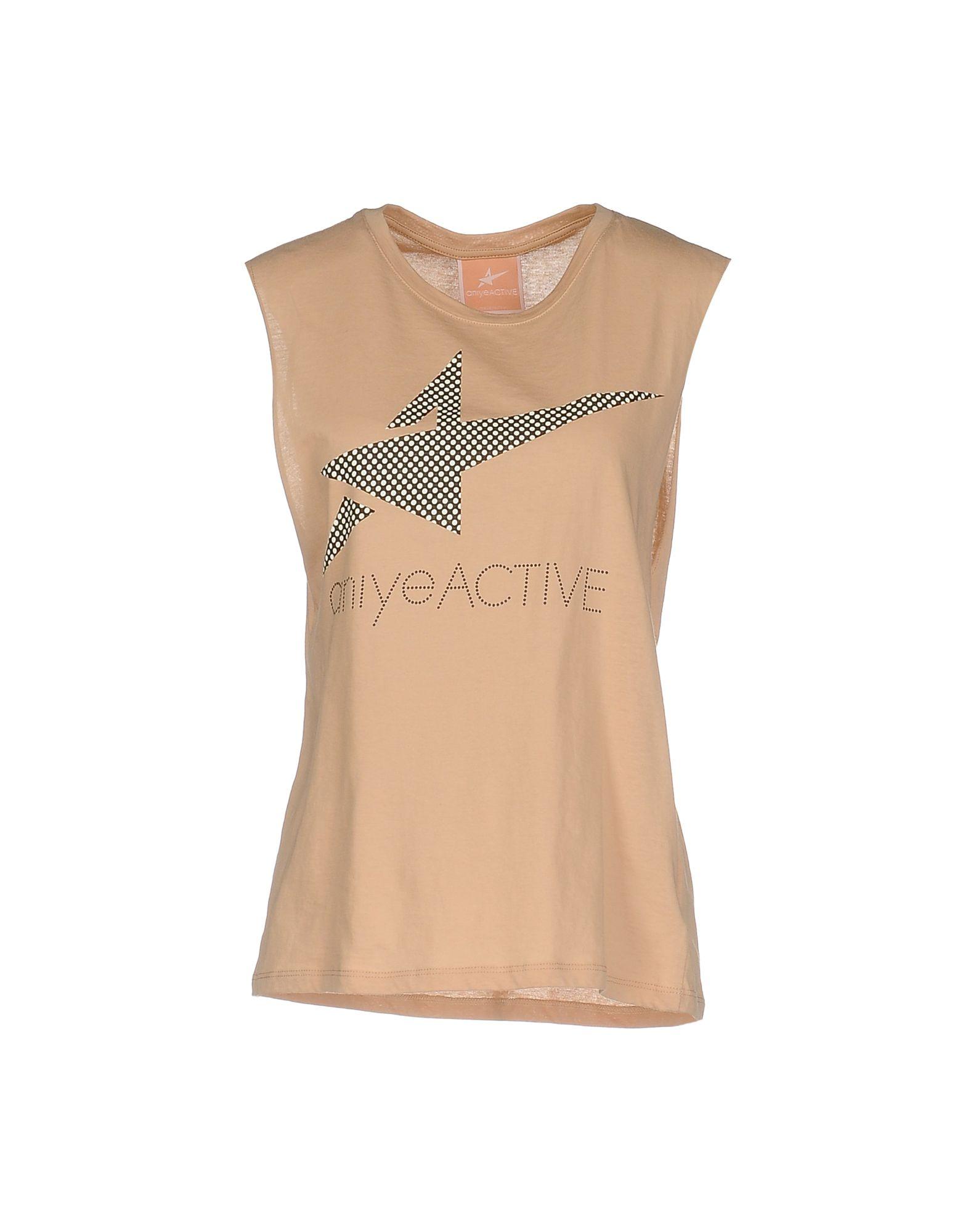 ANIYE BY Damen T-shirts Farbe Sand Größe 4