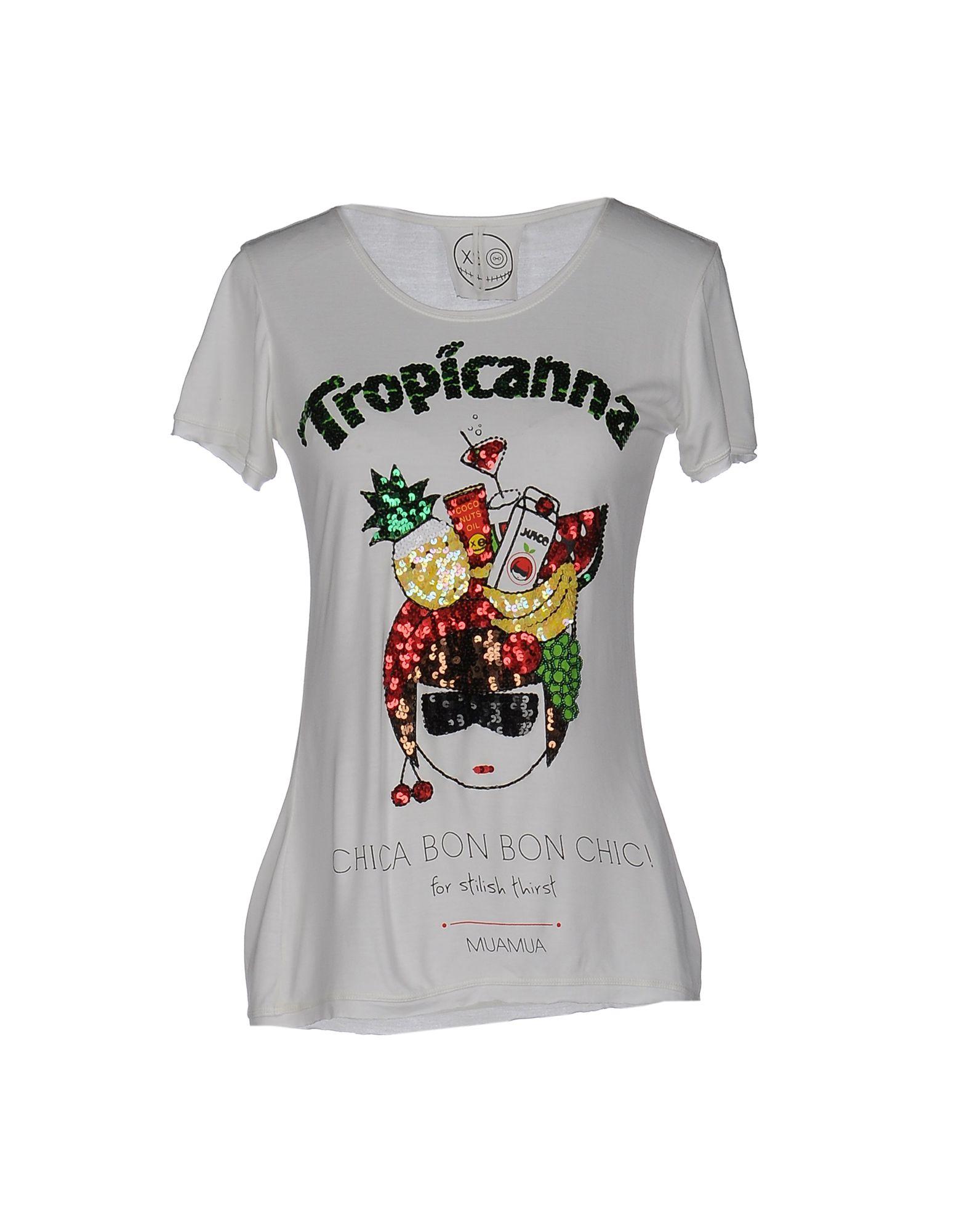 MATA MUA Damen T-shirts Farbe Weiß Größe 3