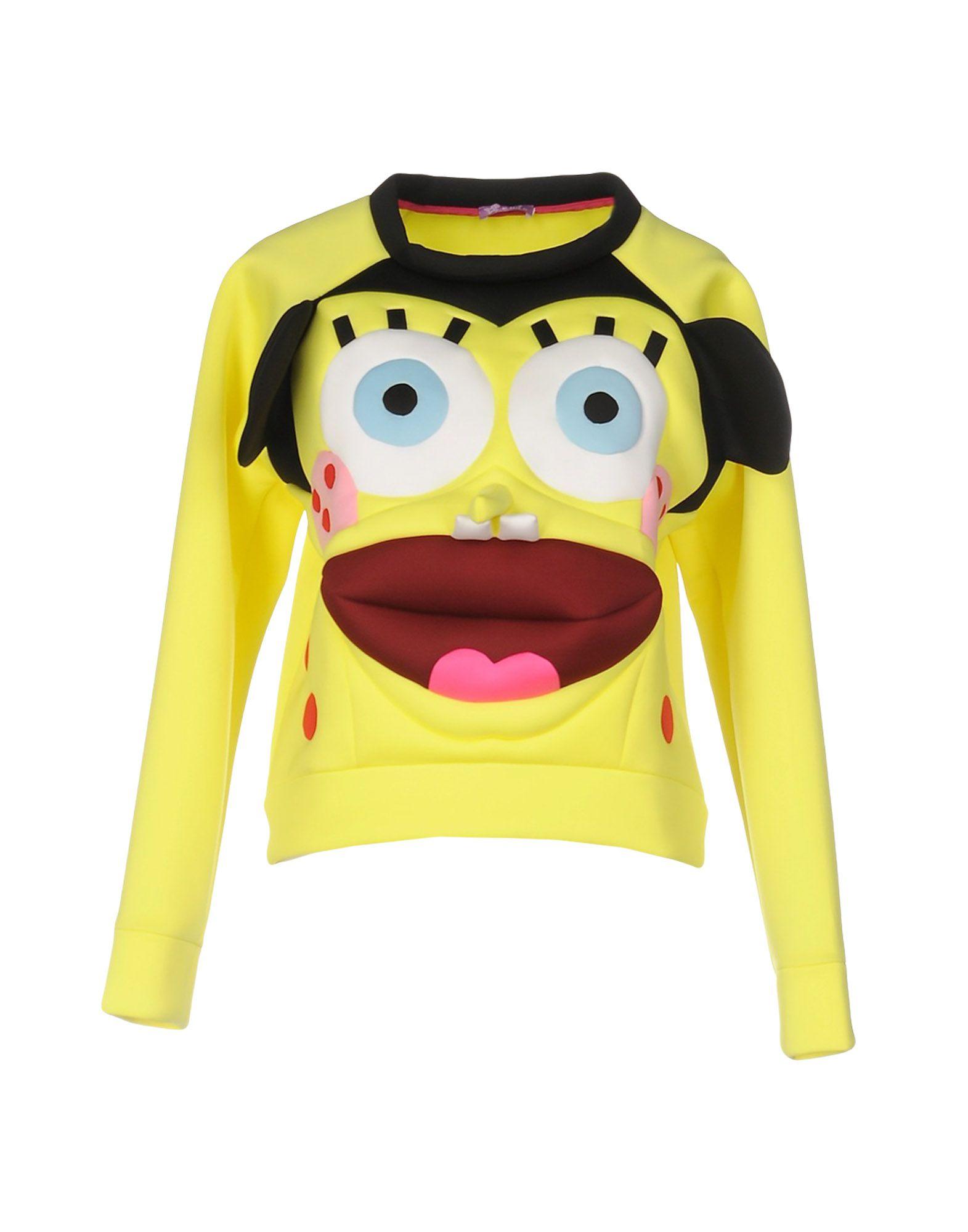 YANG DU Sweatshirt in Yellow