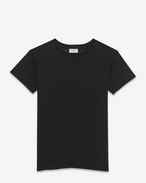 SAINT LAURENT T-Shirt and Jersey D Black Short Sleeve Fitted T-Shirt f