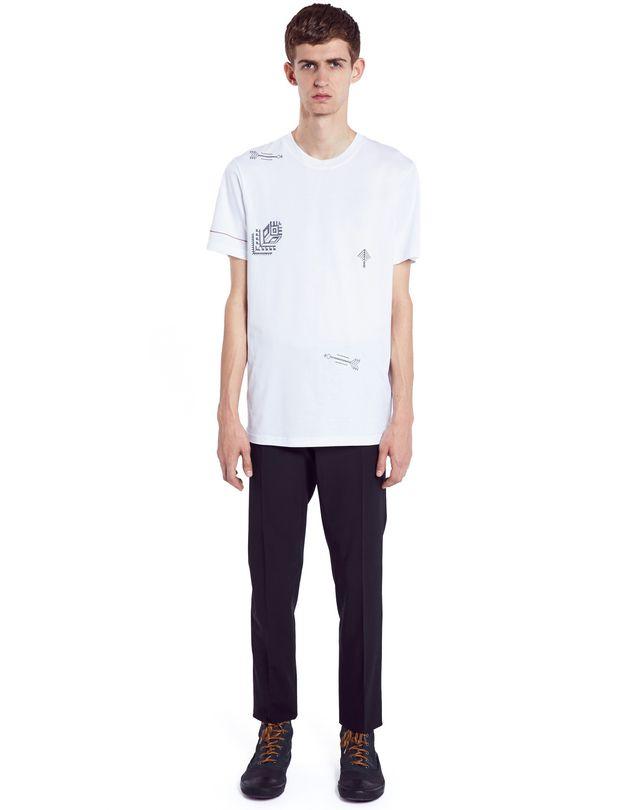 "LANVIN ""ARROW"" T-SHIRT Polos & T-Shirts U r"