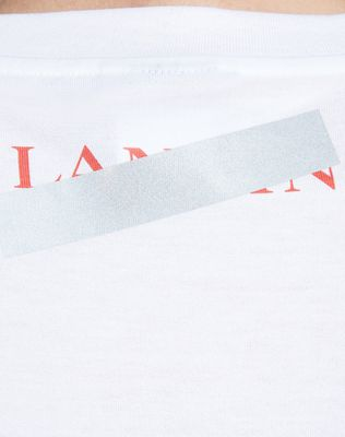 "LANVIN WHITE ""DOESN'T MATTER"" T-SHIRT Polos & T-Shirts U b"