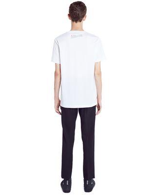 "LANVIN WHITE ""DOESN'T MATTER"" T-SHIRT Polos & T-Shirts U d"