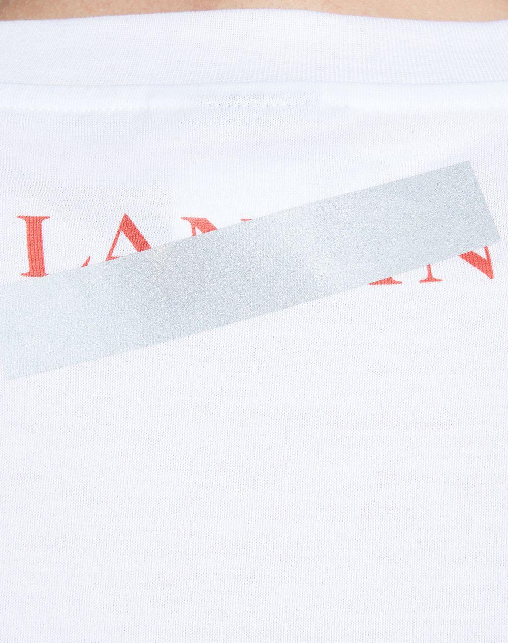 "WHITE ""DOESN'T MATTER"" T-SHIRT - Lanvin"