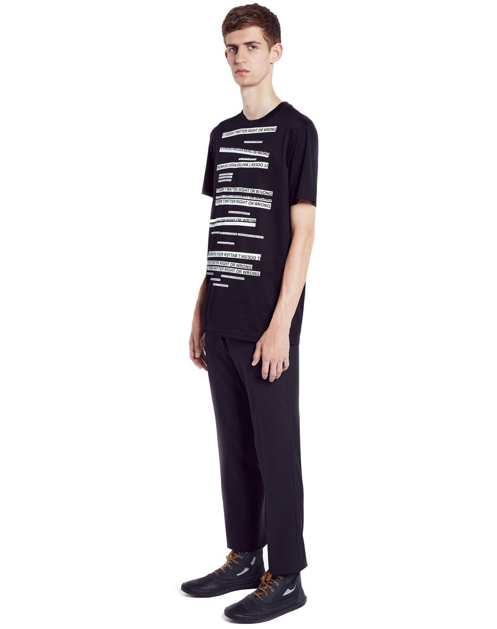"WHITE ""DOESN'T MATTER"" T-SHIRT - Lanvin"