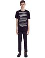 "LANVIN Polos & T-Shirts Man WHITE ""DOESN'T MATTER"" T-SHIRT f"