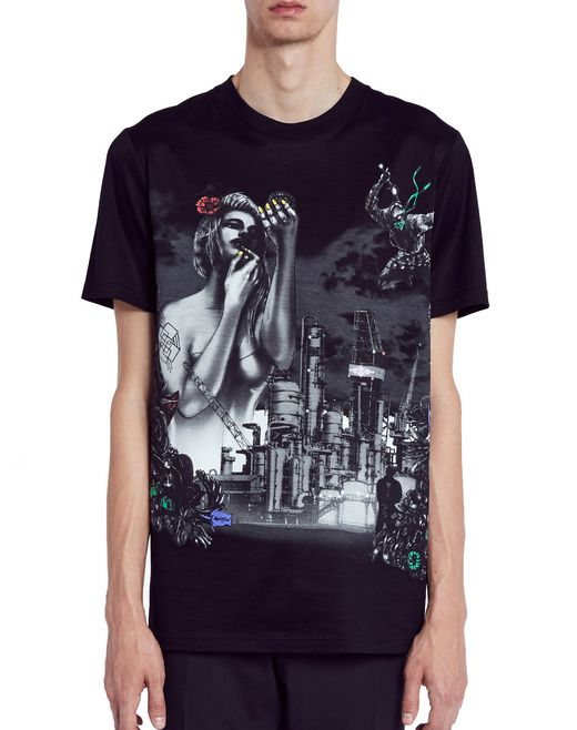 "lanvin ""the refinery"" t-shirt men"