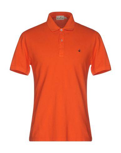 Фото - Мужское поло BROOKSFIELD оранжевого цвета