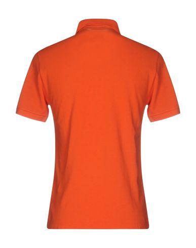 Фото 2 - Мужское поло BROOKSFIELD оранжевого цвета