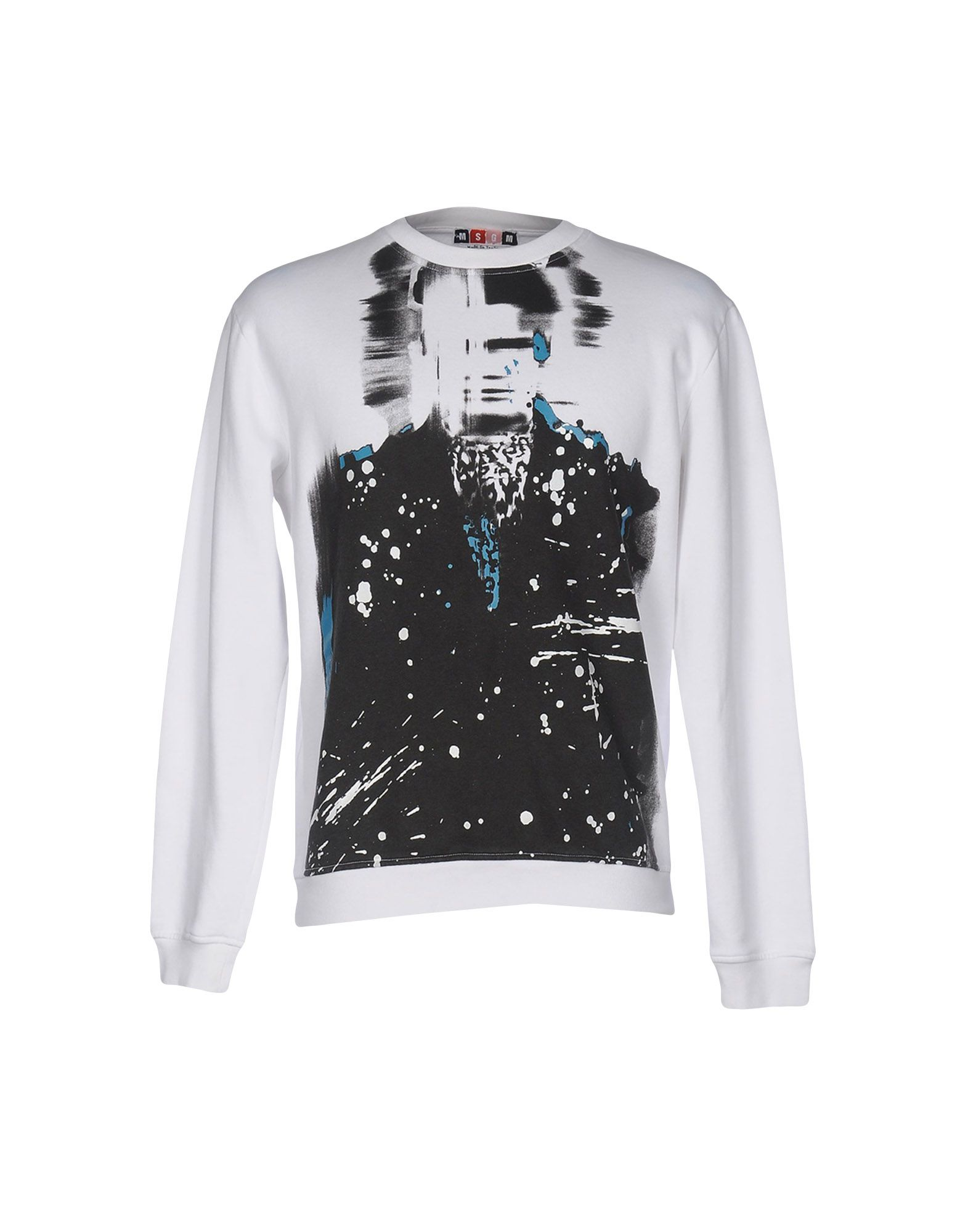 MSGM Толстовка trendy see through off the shoulder long sleeve lace blouse for women