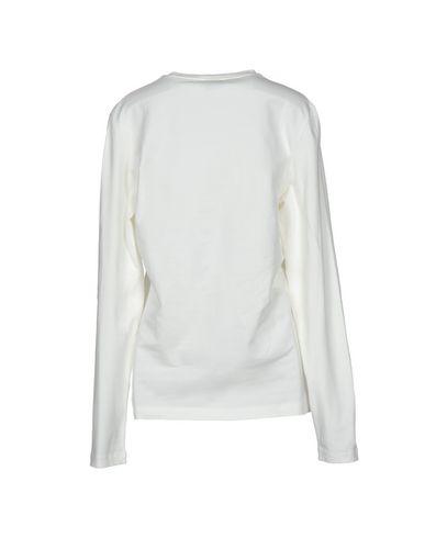 VERSACE COLLECTION Damen T-shirts Elfenbein Größe XL 96% Baumwolle 4% Elastan