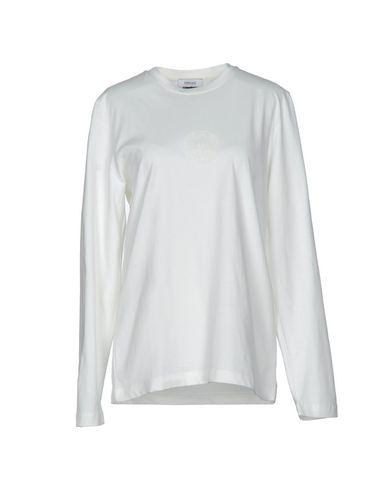 VERSACE COLLECTION Damen T-shirts Elfenbein Größe L 100% Baumwolle