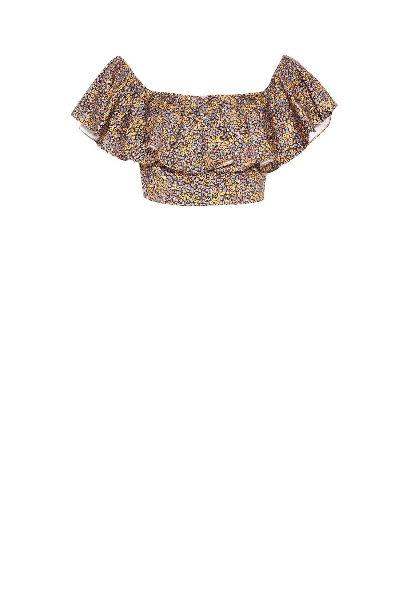 ICON BROIDERIE CROP TOP