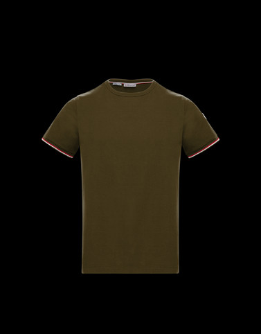 T-SHIRT Military green New in Man