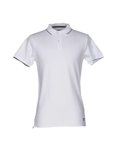 VICTOR COOL メンズ ポロシャツ ホワイト S コットン 95% / ポリウレタン 5%