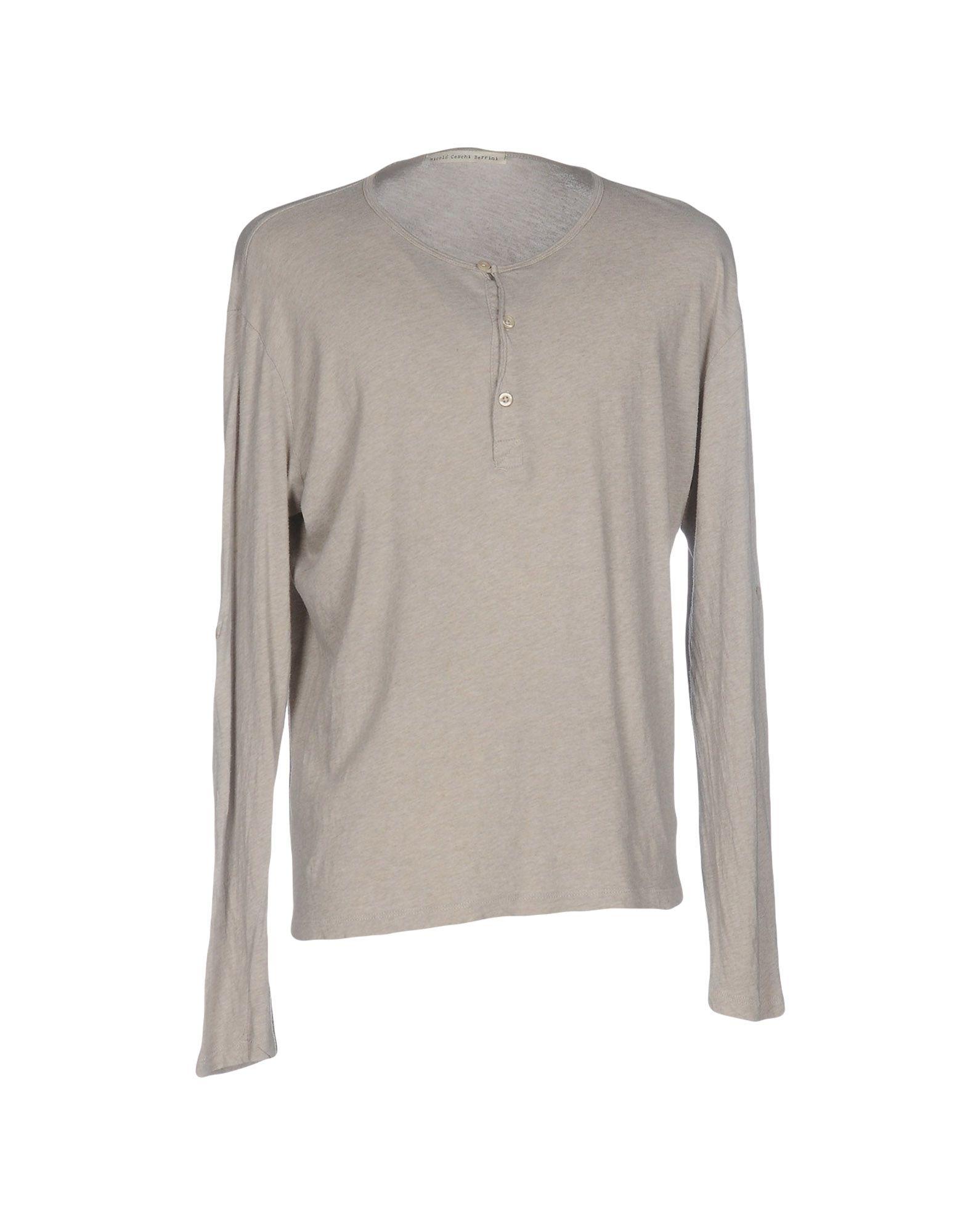 NICOLO' CESCHI BERRINI Футболка nicolo ceschi berrini рубашка с длинными рукавами