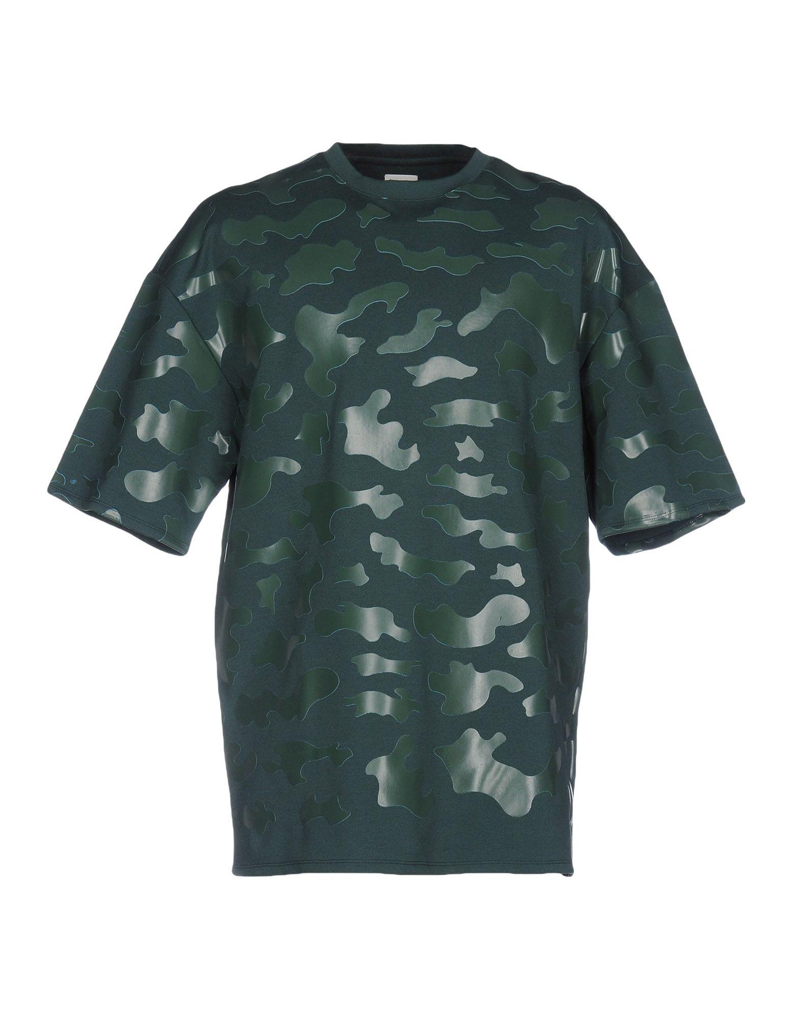 CY CHOI Sweatshirts in Green