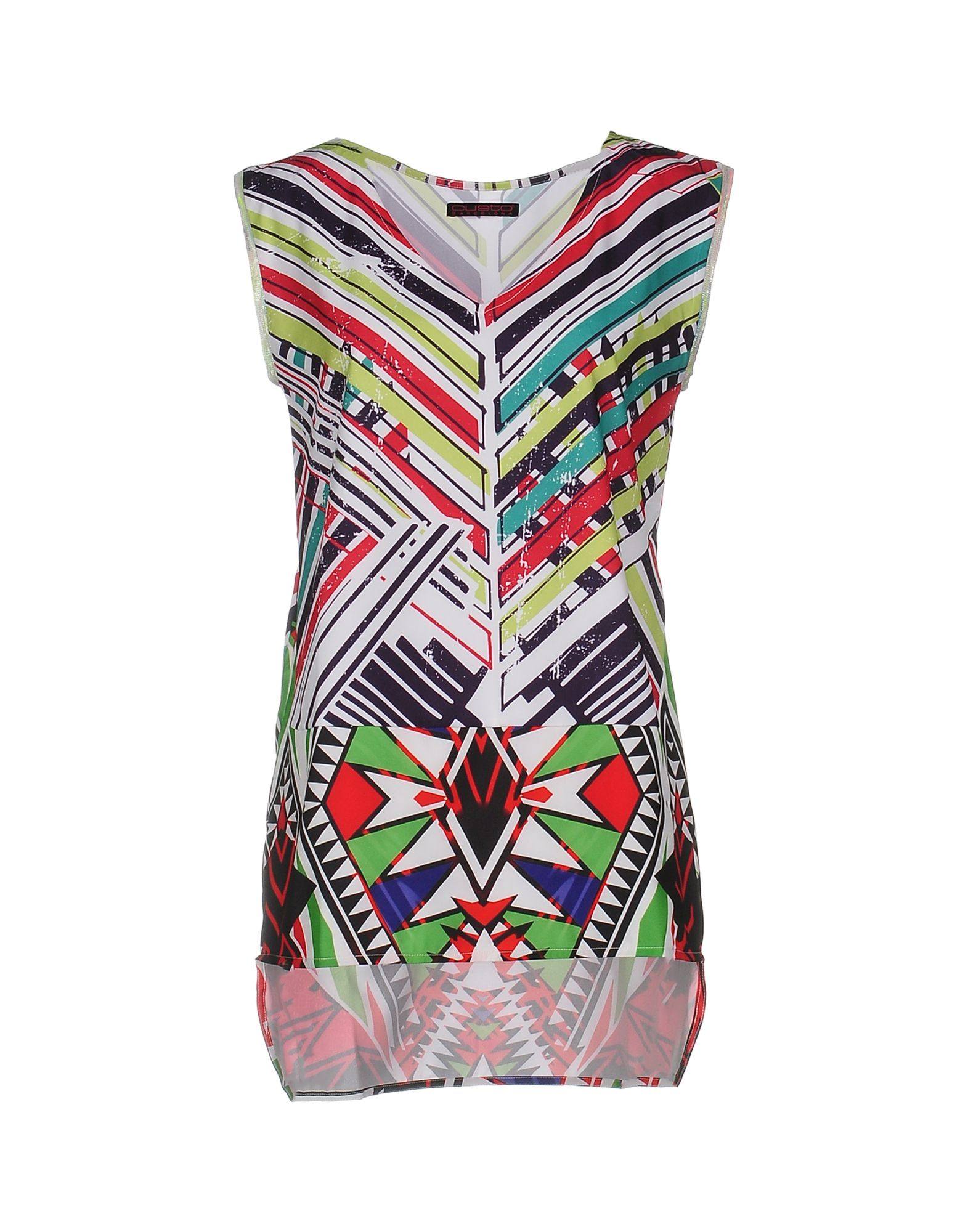 CUSTO BARCELONA Топ без рукавов custo barcelona women s style 7 long sleeve graphic top 2390070