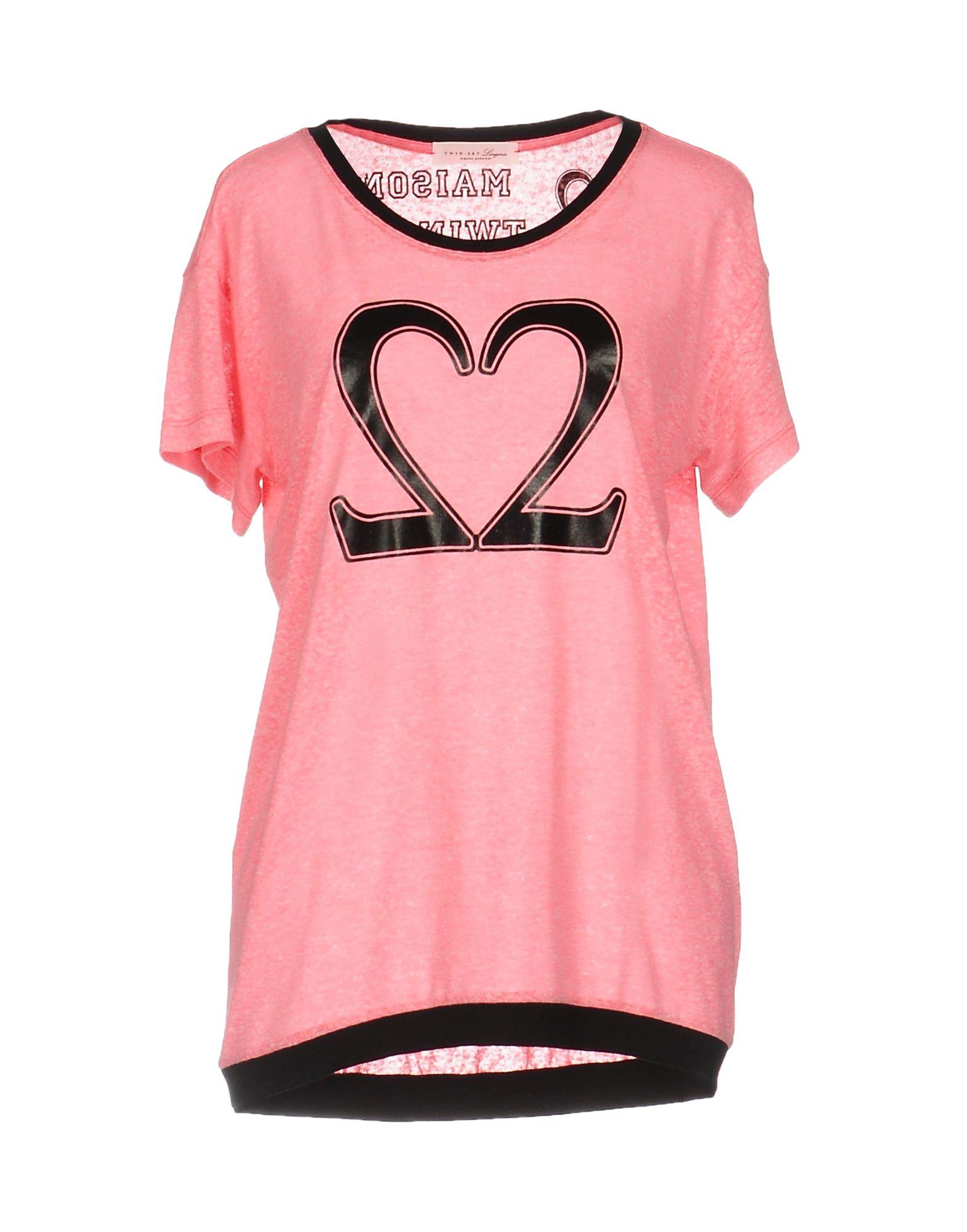 TWIN-SET LINGERIE Футболка black mesh applique lingerie set