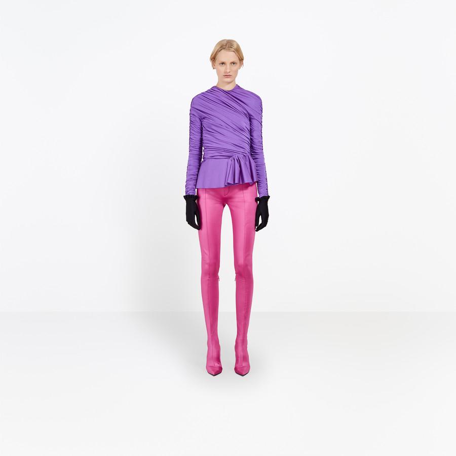BALENCIAGA Gathered Couture Top Top D g
