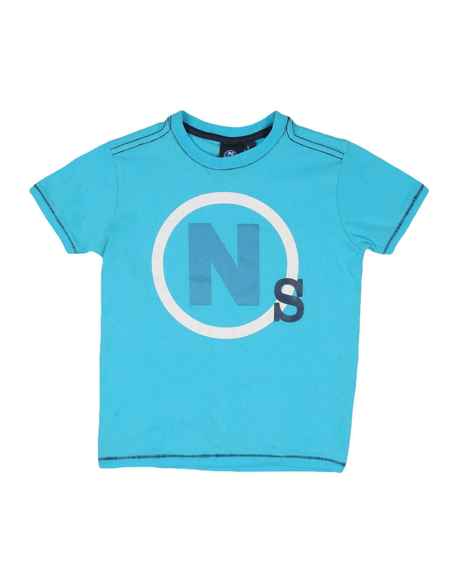 NORTH SAILS Jungen 3-8 jahre T-shirts Farbe Tūrkis Größe 4