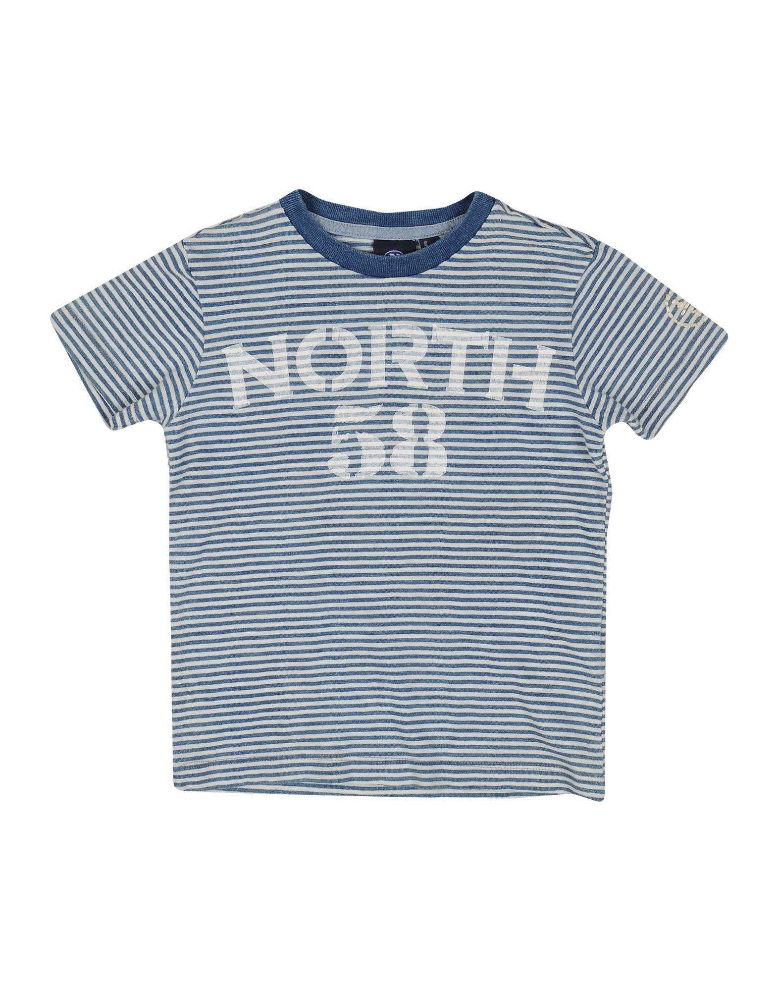 NORTH SAILS Jungen 3-8 jahre T-shirts Farbe Blaugrau Größe 2