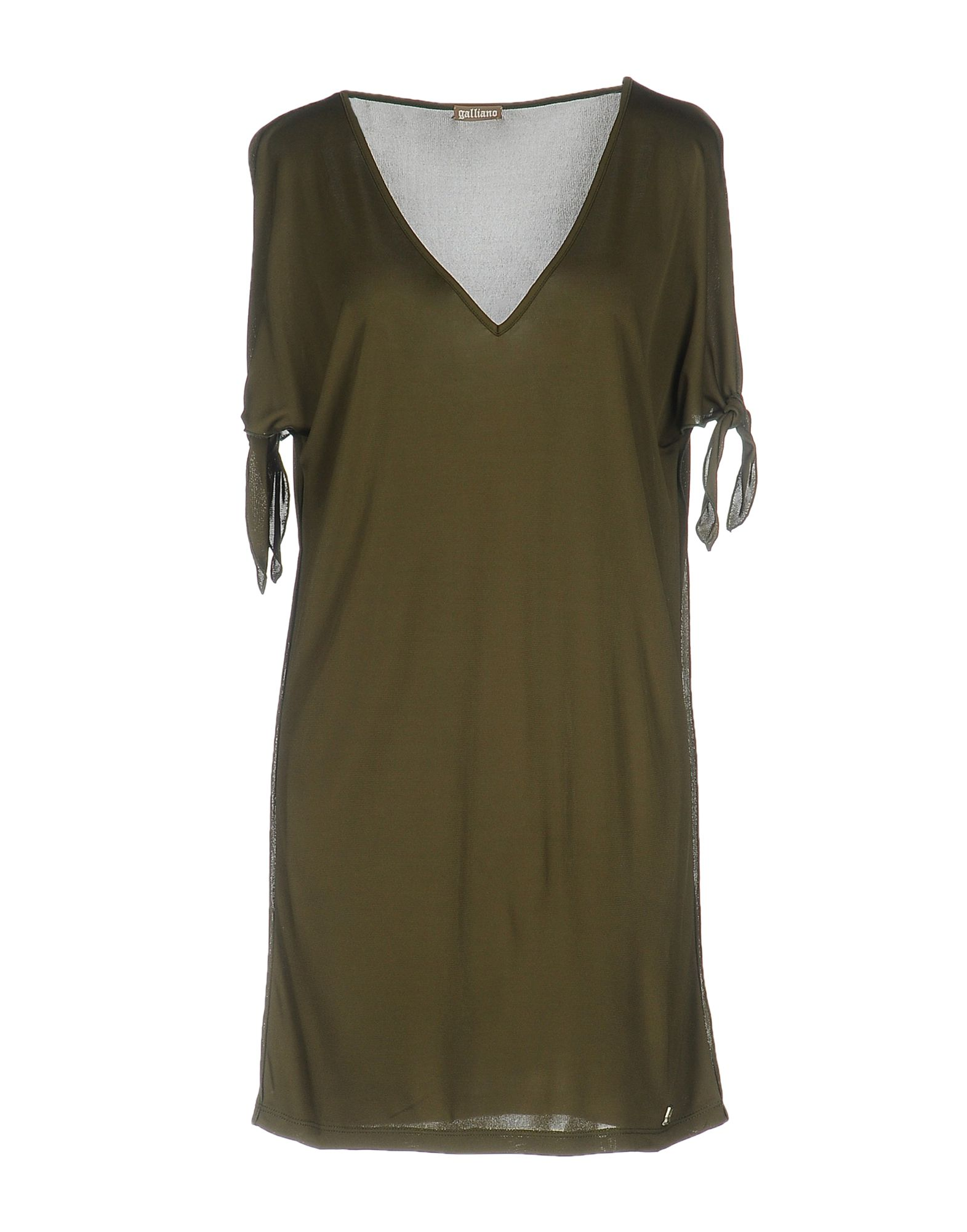 GALLIANO Короткое платье galliano короткое платье