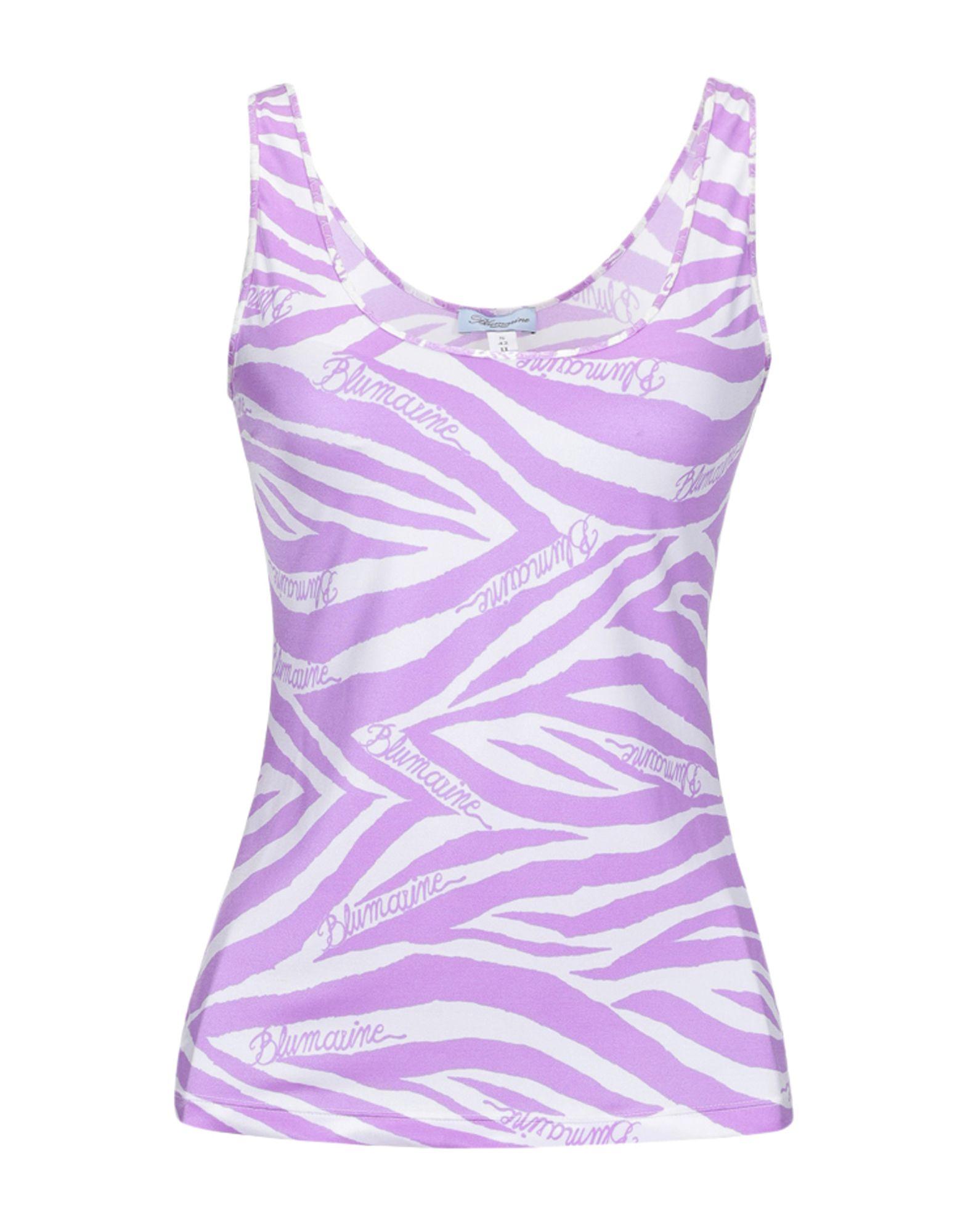 BLUMARINE BEACHWEAR Майка blugirl blumarine beachwear слитный купальник