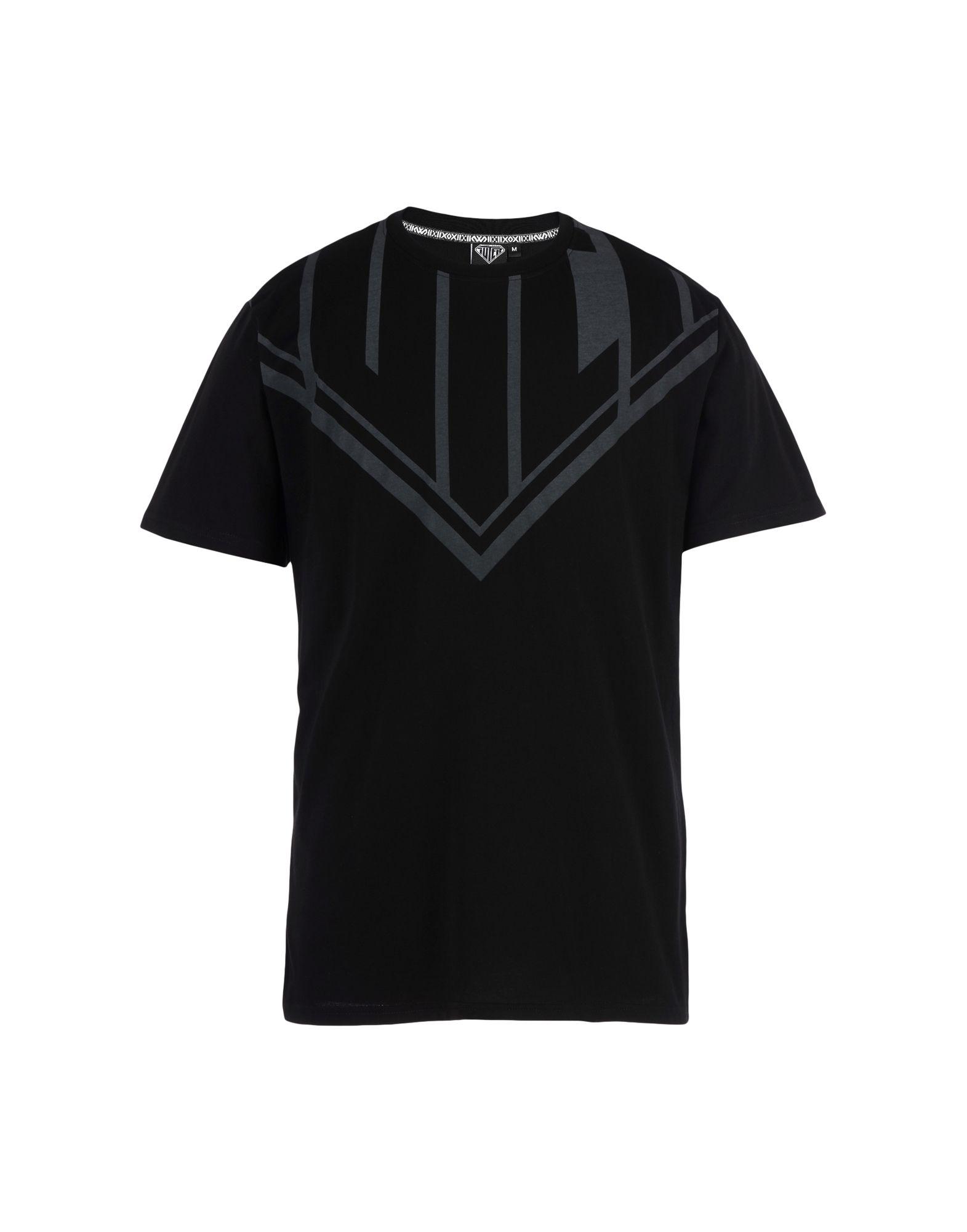 《送料無料》IUTER メンズ T シャツ ブラック L コットン 100% MEGALOGO TEE SCREEN PRINTED T-SHIRT