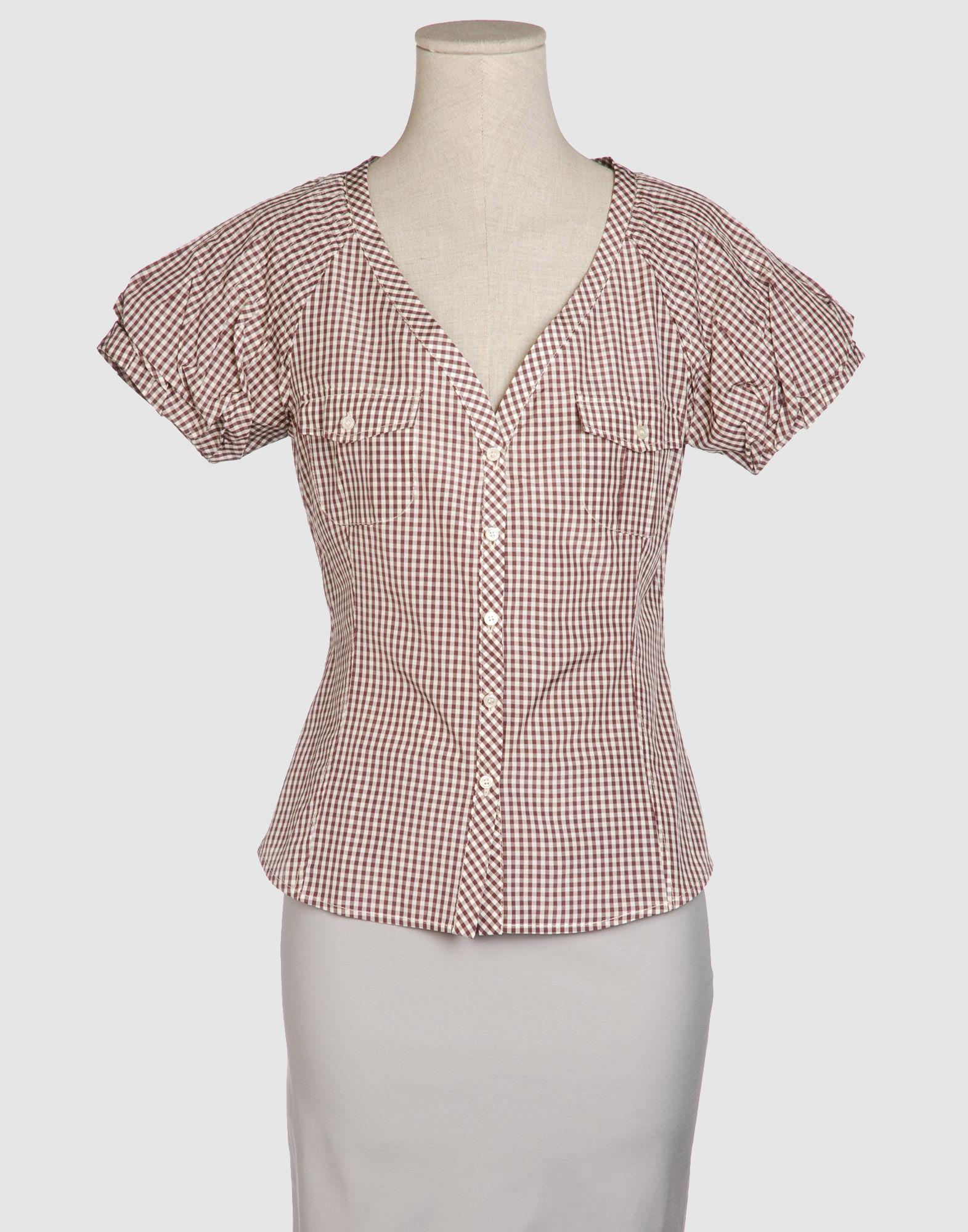 MALO Рубашка с короткими рукавами цена 2017