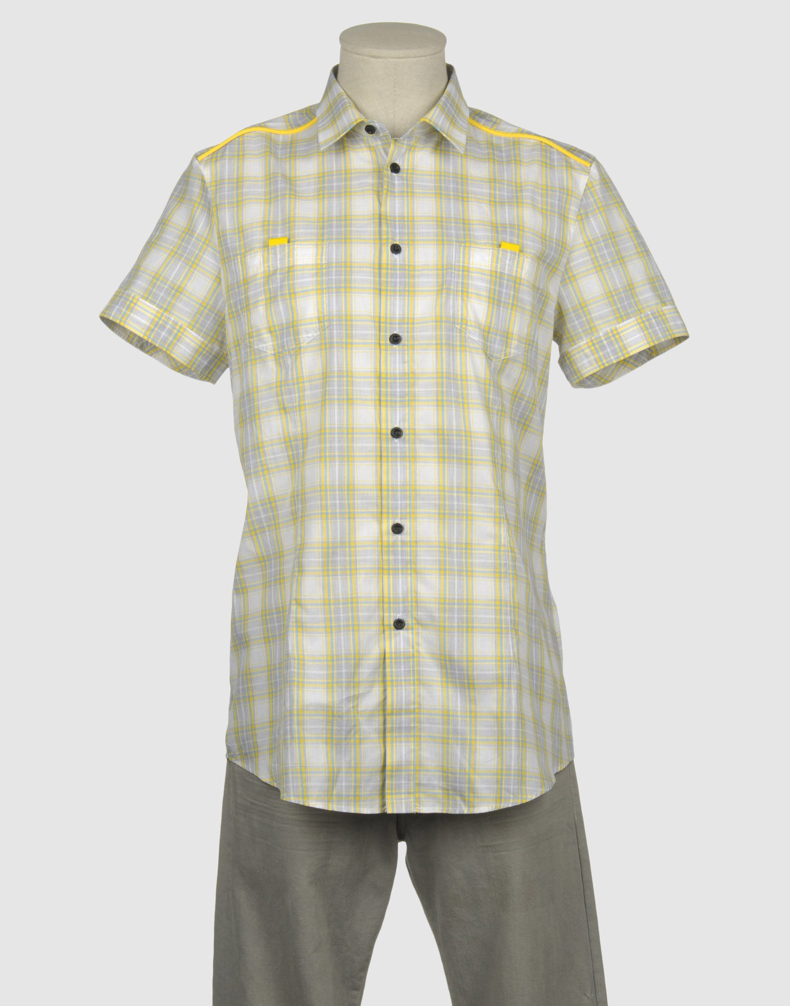 FRANKIE MORELLO Рубашка с короткими рукавами