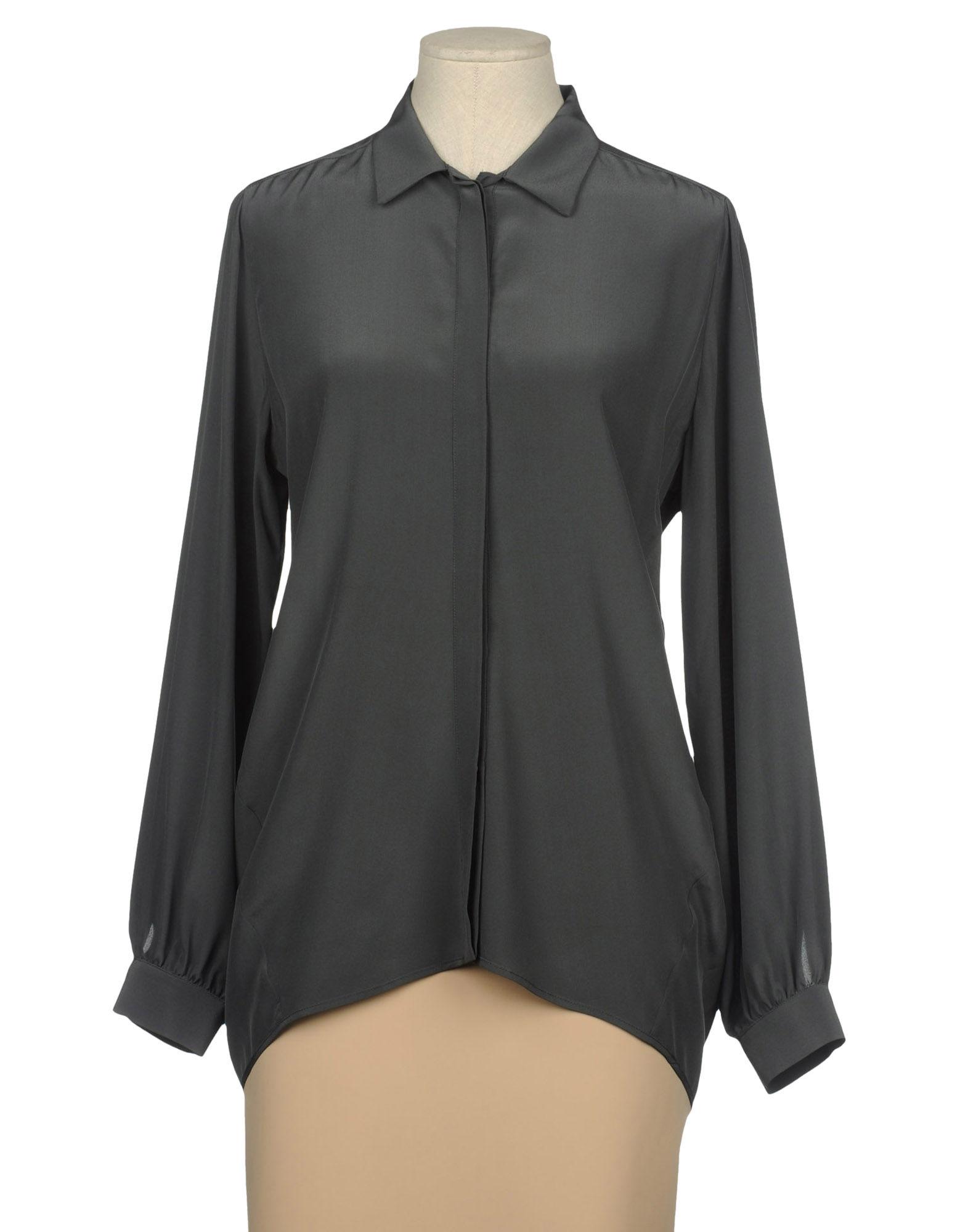 WALTER VOULAZ Рубашка с длинными рукавами цена 2017
