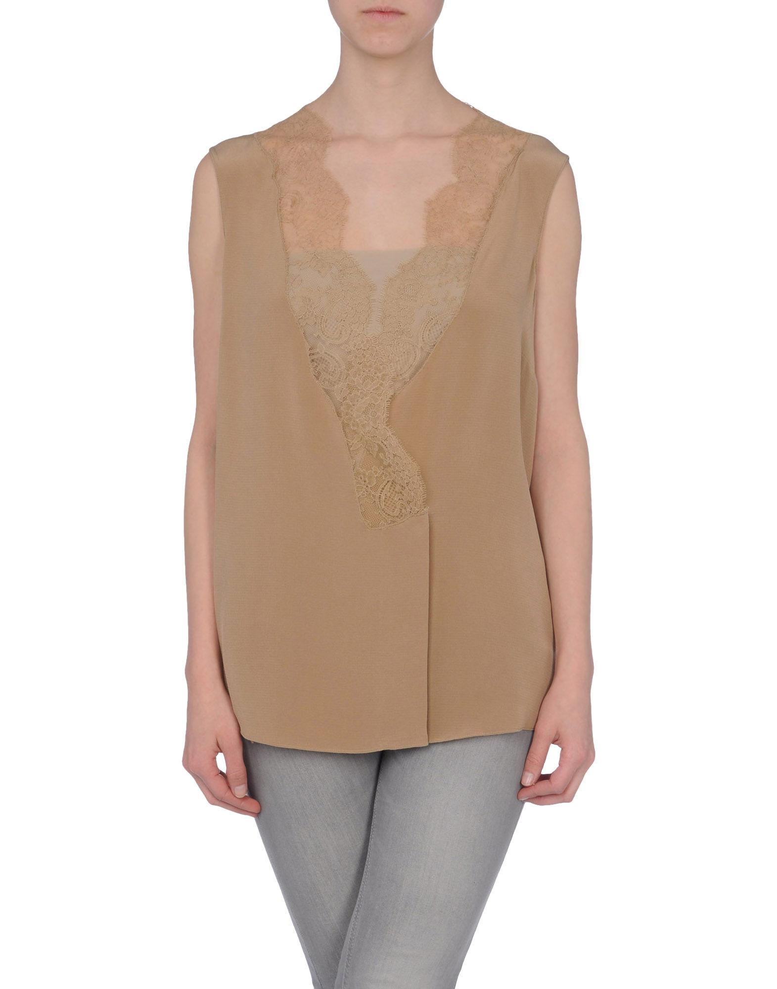 JO NO FUI Рубашка без рукавов недорго, оригинальная цена