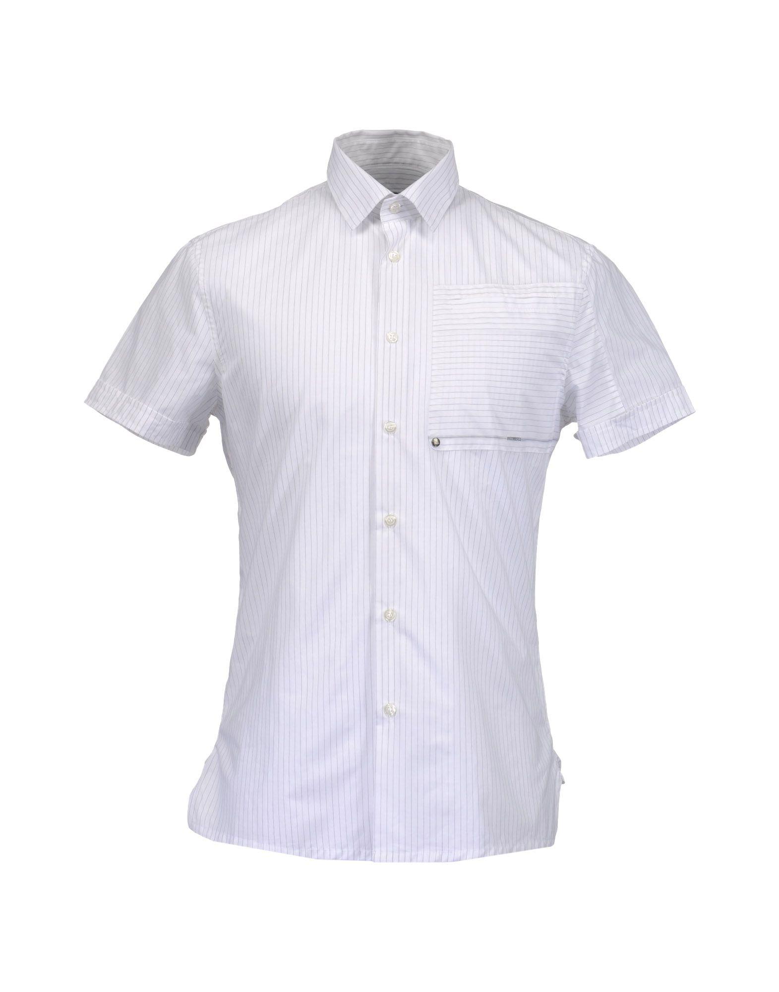 BIKKEMBERGS Рубашка с короткими рукавами цена 2017