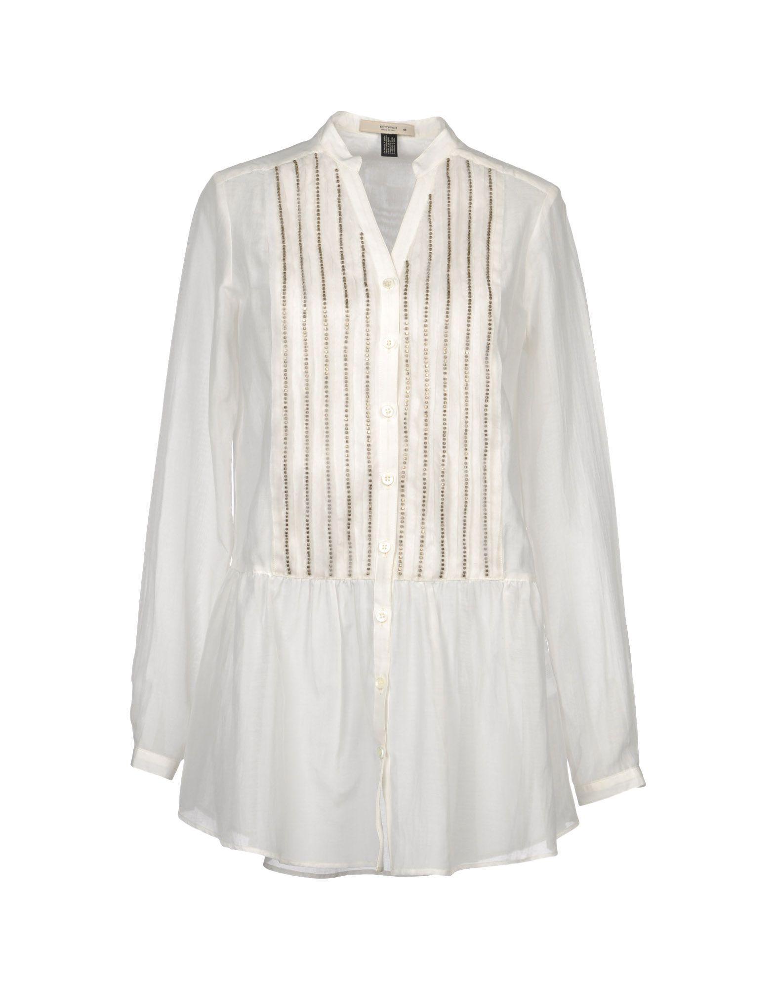 ETRO Рубашка с длинными рукавами цена 2017