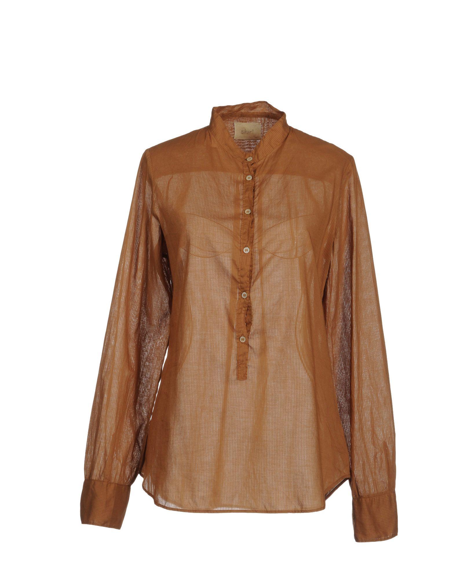 FORTE_FORTE Рубашка с длинными рукавами c h i c платье рубашка в полоску