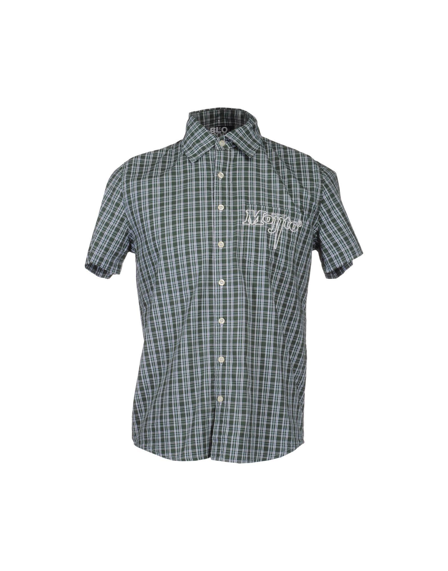 BLOMOR Рубашка с короткими рукавами цена 2017
