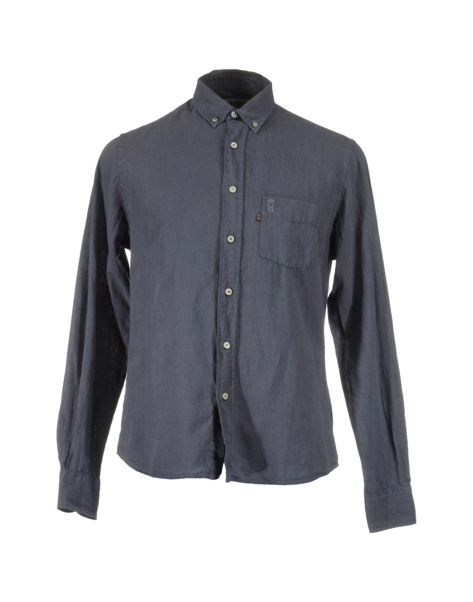 HENRI LLOYD Рубашка с длинными рукавами cityplus фан арт воротник диких дна рубашка рыхлая с длинными рукавами розовая рубашка cwcc172473 l