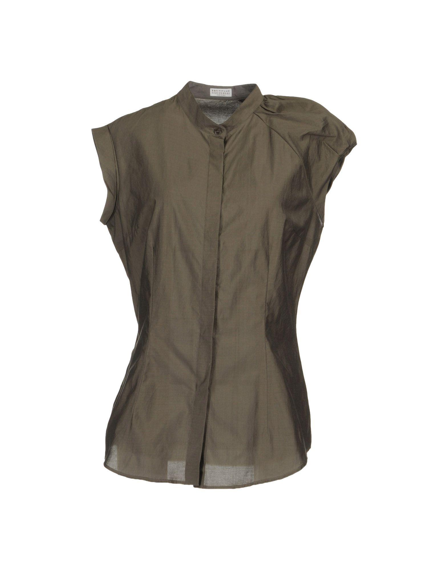 BRUNELLO CUCINELLI Рубашка без рукавов недорго, оригинальная цена