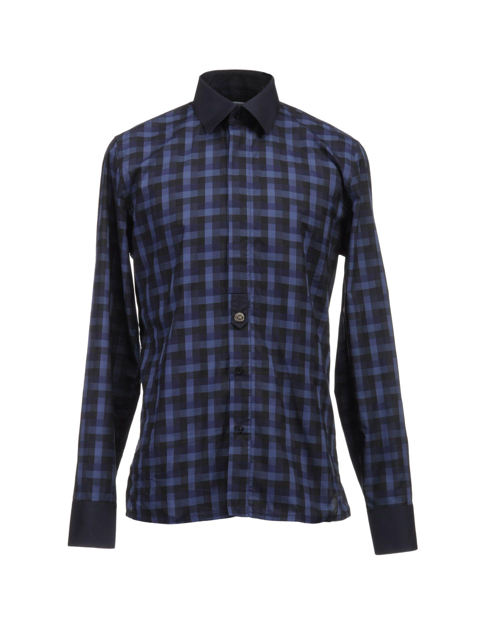 BIKKEMBERGS Рубашка с длинными рукавами джинсы bikkembergs c q 61b fj s b093 033b